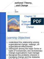 Types and Forms of Organizational Change