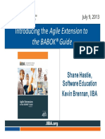 BABOK Agile Extension PDF