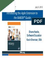 BABOK Agile Extension PDF