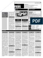 Claremont COURIER Classifieds 12-25-15
