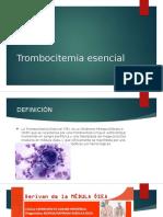 Trombocitemia escencial 1.0.pptx
