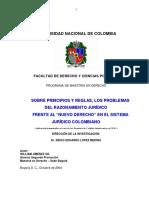 TESIS MODIFICADA- Teoria de La Imprevision, Hermeneutica y Analisi Jurisprudencial