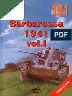 Wydawnictwo Militaria 191 - Barbarossa 1941 Vol I