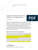 Nontenure Track Faculty