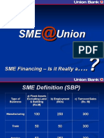 SME Financing–is It Really