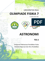 Soal Olimpiade Astronomi 2 OF7