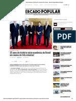 25 anos de história sócio-econômica do Brasil em menos de três minutos! - Mercado PopularMercado Popular