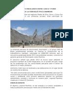 Proyecto Paralizado Entre Cusco y Puno