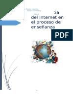 La influencia del Internet en la enseñanza-aprendizaje