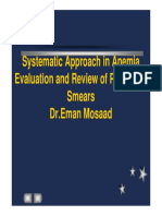 Systematic Approach in Anemia