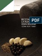 Recetario de la Huasteca Veracruzana Alta y Baja