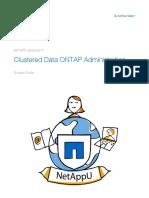 NetApp Training OnTap Clustering Student Guide Rev4