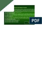 Fixed Asset Register Sample