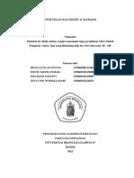 MAKALAH KEMITRAAN DAN KREDIT & ASURANSI.docx