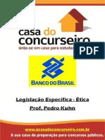 Apostila Bancodobrasil 2015 Legislacaoespecifica Etica Pedrokuhn