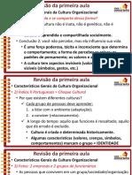 Slides Aula3 Bb 2015 Culturaorganizacional Rafaelravazolo