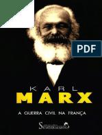 Karl Marx - A Guerra Civil Na França