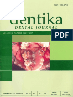 Dentika Dental Journal, 2007, Eruption
