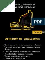 Aplicación de Excavadoras Hidraulicas