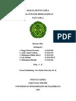 Etika Politik Berdasarkan Pancasila