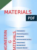 Materials in product desgin