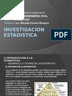 1 Investigacion Estadistica