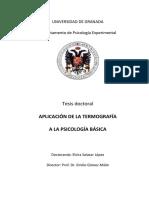 Aplicación de La Termografía a La Psicologia Basica