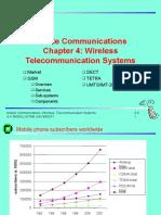C04-Wireless Telecom Systems