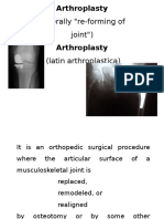 arthoplasty
