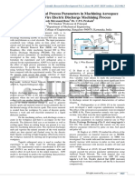 Selection of optimal process parameters in machining Aerospace Material by Wire Electric Discharge machining process