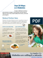 51 Ways to Prevent Type 2 Diabetes