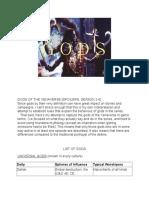 Gods of the Xenaverse