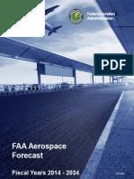 2014 FAA Aerospace Forecast