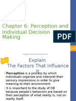 Chapter 6 Perception and Decision Making.ppt