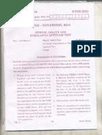 Telangana NTSE 2016 Question Paper