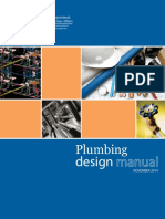 Plumbing Design Manual - Nov, 2014