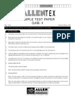ADITEX Class10 Paper