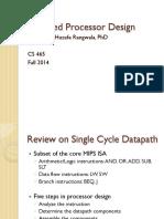 Pipeline Processor  Design