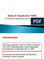 Sale of Goods Act