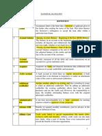 Banking Glossary 2011