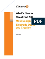 WhatsNew CimatronE 9.0 Mold Design and Electrode
