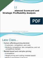 Chp 12 - Strategy, Balanced Scorecard, And Strategic Profitability (With Answers)