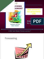 CH 2 Forecasting 2012