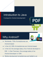 Introduction to Java (Prequel for Android)