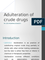 Adulteration of Crude Drug