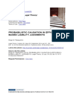 3 Probabilistic Causation in Efficiency-based Liability Judgments