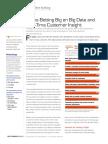 Banks Betting Big on Big Data and Real-Time Customer Insight