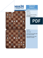 Advanced Defence - Puzzles