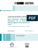 Guía Práctica Para Prevención Diagnóstico y Tratamiento de La Enfermedad Diarreica Aguda en Niños Menores de 5 Años