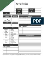 Character Sheet 2.0